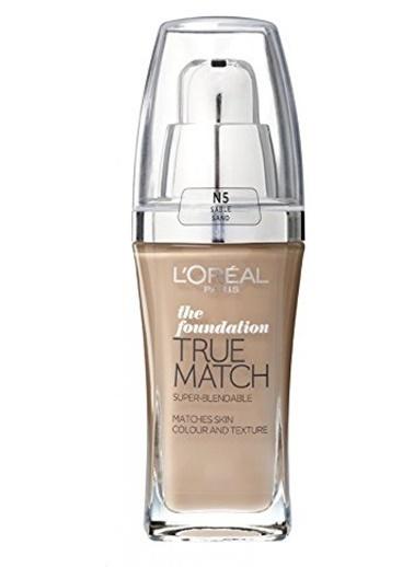 L'Oréal Paris True Match Fondoten Spf17 N5 Sable Sand Renkli